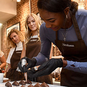 Chocolate workshop Neuhaus Studio